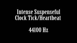 Suspenseful Intense Clock Ticking Heartbeat Scary Etheral Sound Effect Free High Quality Sound FX