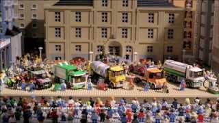LEGO 60016 Camion cisterna & LEGO 60017 Camion cu platforma & LEGO 60018 Autobetoniera & 4432 & 4433