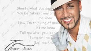 Massari - Let Me Know (Lyrics HQ)