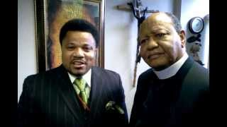 "Bishop Kirby Clements w/ Pastor Arthur ""Jamie"" Croone from The Redeeming Love Christian Church"