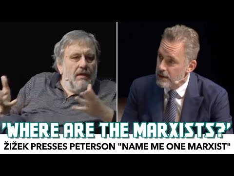 "Zizek Presses Peterson: ""Where Are The Marxists!?"""