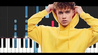 Hrvy - Personal (Piano Tutorial)