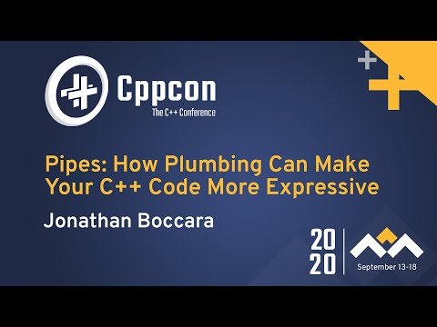 Pipes: How Plumbing Can Make Your C++ Code More Expressive