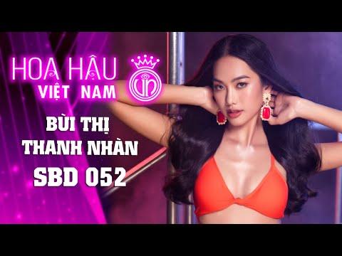 052 BÙI THỊ THANH NHÀN HOA HẬU VIỆT NAM 2020