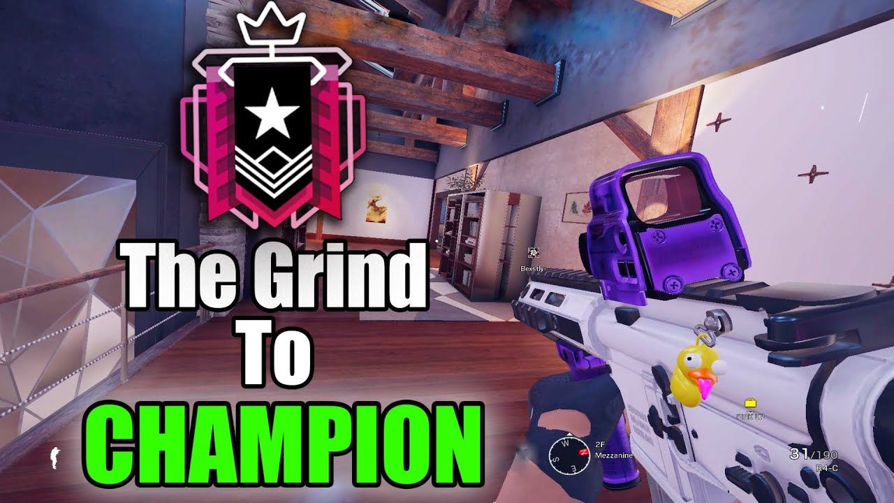 KrolR6s - The Grind to Champion - Rainbow Six Siege