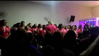 Coral das mulheres família em Cristo  no  congresso  das mulheres