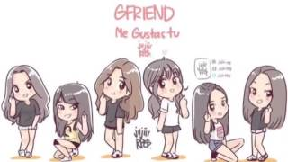 GFriend~Me Gustas Tu (NightCore Ver.)