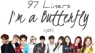 97-Line - '나는 나비 (I'm a Butterfly)' (Cover)[2016 KBS Gayo Daechukje] [Han|Rom|Eng lyrics]