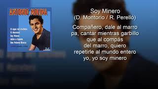 Karaoke Antonio Molina  Soy minero
