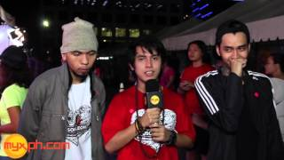 What are ABRA, LOONIE and RON HENLEY's New Year Resolutions?