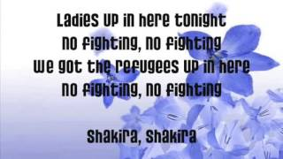 My hips don't lie shakira. Lyrics. ^_^