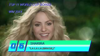 Top 11 FIFA World Cup Songs Of All Time (2014)