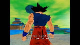 Goku First SSJ Transformation (DBZ Budokai Tenkaichi 2) [PCSX2]