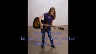 Llorare Tania Brou con letra (cancion propia)