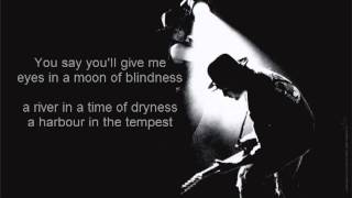 U2 All I Want is You with lyrics