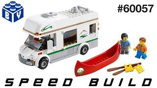 LEGO City #60057 Camper Van Speed Build