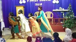 Family Sunday & Suppose Christmas Montage Video Bangarupalyam || Light Of Life Ministries