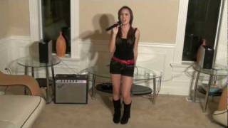 """Me Singing """"Party In The USA"""" by Miley Cyrus (cover)"""