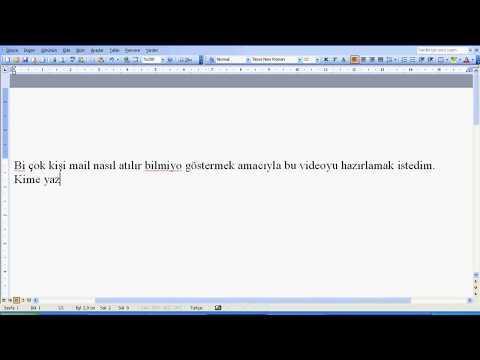 Mail Nasıl Atılır Videolu Anlatım