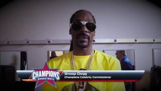 Snoop Dogg Champions Celebrity Commissioner