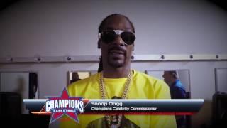 Snoop Dogg Champions Celebrity Commissioner