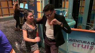 Nery Garcia dancing another Smooth & Elegant salsa with the talented Jennifer Geyer at 2018 ADC