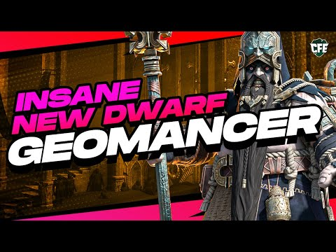 How Good is GEOMANCER?! | NEW Dwarf Epic | RAID Shadow Legends