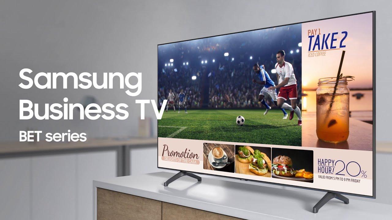 Samsung Business TV: A TV built for your business | Samsung