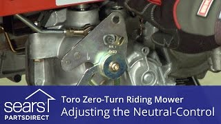How to Adjust a Toro Zero-Turn Riding Mower Neutral Control
