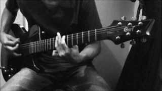 Nine Lashes - From Water To War - Break The World (Guitar Cover)
