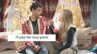 josh & maya | 'i'll play the long game'