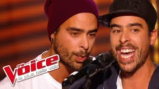 The Voice 2016 │Twins Phoenix - Hey Mama (David Guetta & Nicki Minaj) │Blind Audition