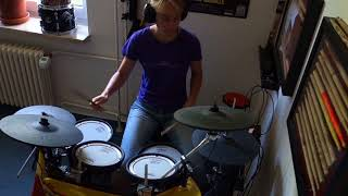 """DRUMCOVER - The Outfield """"Your love"""""""