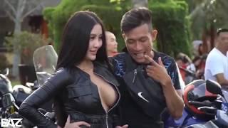 Begini yak kalau pameran motor di Thailand SPG nya ...