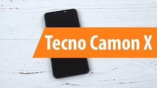 Распаковка смартфона Tecno Camon X / Unboxing Tecno Camon X
