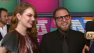 Maniac: Jonah Hill Gushes Over 'Brilliant' Co-Star Emma Stone (Exclusive)