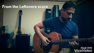 The leftovers score - guitar cover with looper - Liad Abraham