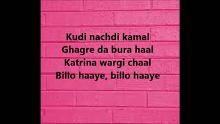 Billo hai-Parchi Lyrics