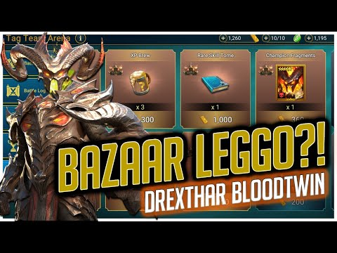 RAID | BAZAAR LEGGO?! | IS IT WORTH IT?