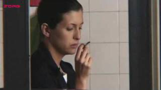 Antonella Costa smoking in movie Cobrador In God We Trust