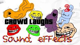Sound Effects | Crowd laughs 2/2