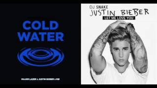 Justin bieber - Cold water - Let me love you (RahimRemix)