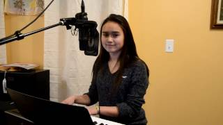 """Chelewynne singing a cover of """"Sad Song"""" by We The Kings."""