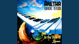 Aretha (In the Style of Rumer) (Karaoke Version)