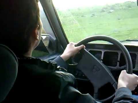 ilk araba kullanma deneyimim  :D Kartal show   :D