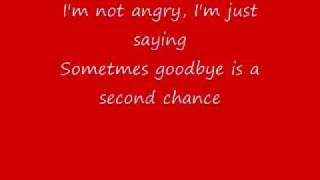Second Chance-Shinedown (Lyrics)