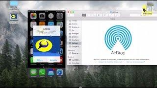 Utilizzare AIRDROP tra Mac e iPhone con (Yosemite e iOS 8)