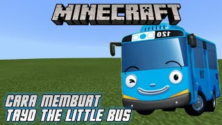 Cara Membuat Tayo The Little Bus Di Minecraft