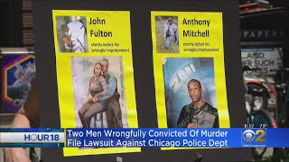 Two Men Wrongfully Convicted Of Murder File Lawsuit Against Chicago Police Department