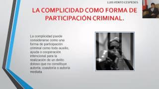 complicidad en el derecho penal